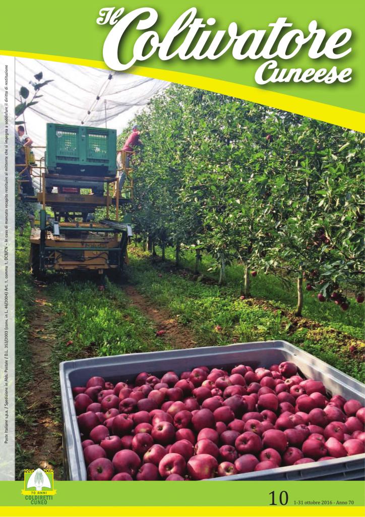 Alla festa del biologico successo del convegno Mangiarbio – Il Coltivatore Cuneese 10-2016