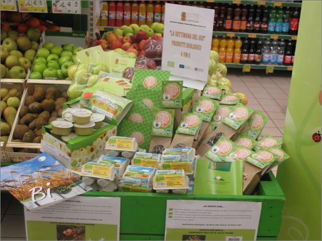 Promozione dei prodotti biologici nell'ambito della GDO